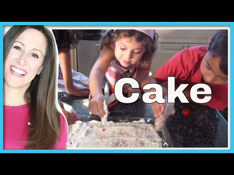 Make a Cake Childrens Song | Birthday Cake Recipe | Ordinal Numbers | Counting songs | Patty Shukla