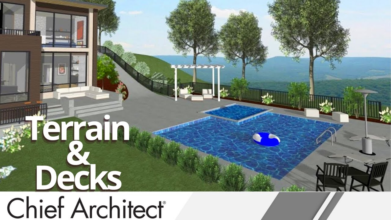 Home Designer 2016   Landscape and Deck Webinar   YouTube