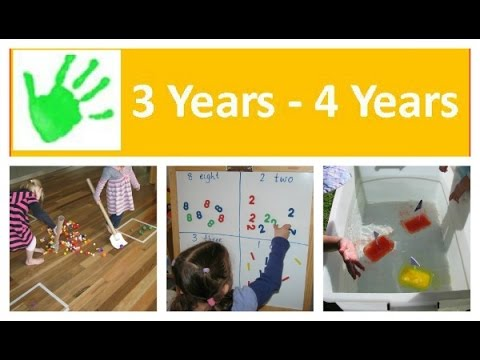 Activities For 3 Year Olds Youtube