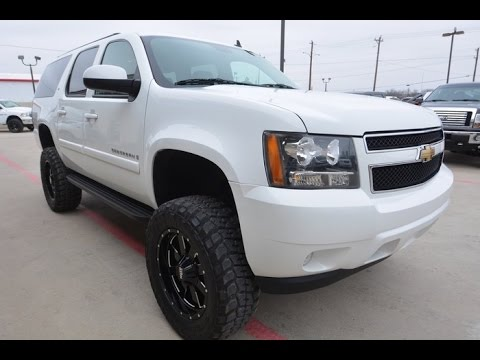 Lifted Suburban For Sale >> 2008 Chevrolet Suburban 1500 LT V8 Lifted Truck - YouTube