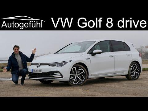 VW Golf 8 FULL REVIEW driving the all-new Mk8 2020 1.5 TSI DSG - Autogefühl