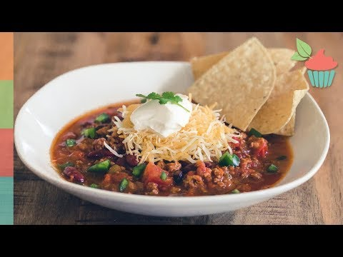 Slow Oven Chicken Chili