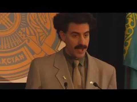 Borat in Melbourne, Australia