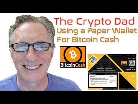 How To Store Bitcoin Cash In A Paper Wallet