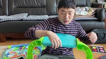 [언박싱] 요효부부 아기(조카) 장난감 피셔프라이스 운동장 FisherPrice 피아노 아기체육관 아기 장난감 언박싱 조립하기