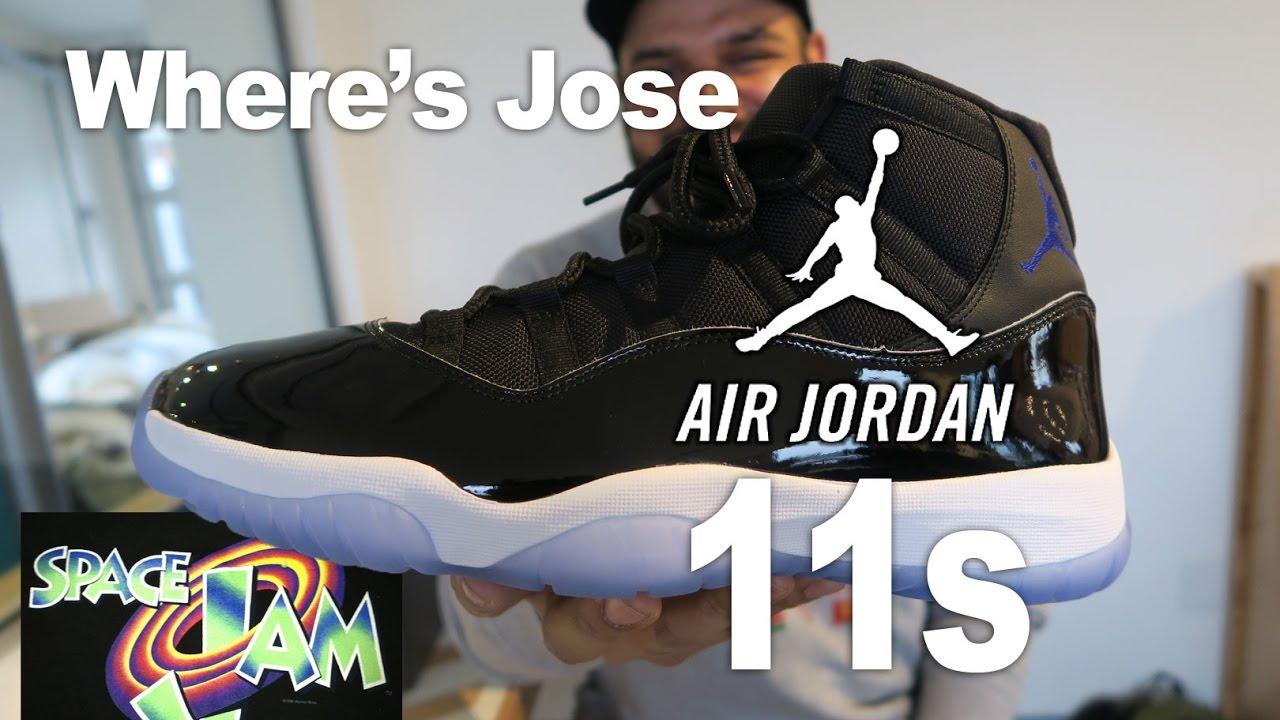 wholesale dealer 80a8a bbeae space jam 11 shoes