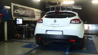 * Reprogrammation Moteur * Renault Megane 3 dci 130cv @ 164cv Dyno Digiservices Paris