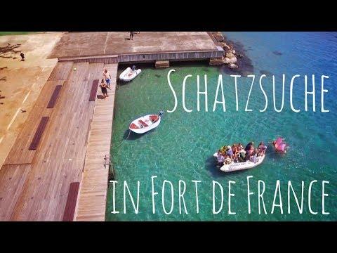 Schatzsuche in Fort de France - Maries Geburtstag auf Martinique || Sailing 7seas #28