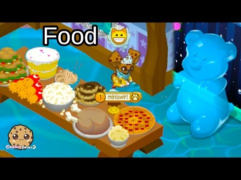 Animal Jam Giant Gummy Bear, Food & Lemonade - Cookieswirlc Game Play Video