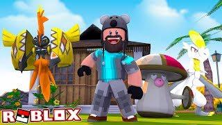 alla fine!! TAPU KOKO - SHINY AMOONGUSS - HAKAMO-O!! | Pokémon Brick Bronze Randomizer [#7] Roblox