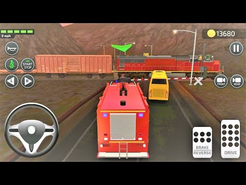 Car Driving Academy 2019 3D - FireTruck Vehicle Unlocked | Android GamePlay FHD