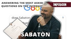 Joakim Brodén | SABATON Answering The Most Asked Questions On The Internet
