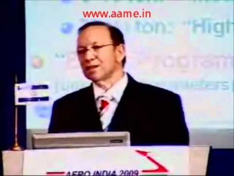 Aerospace Markets & trends towards 2020 -- Yair Ramati, Israel Aerospace Industries,  at Aero India