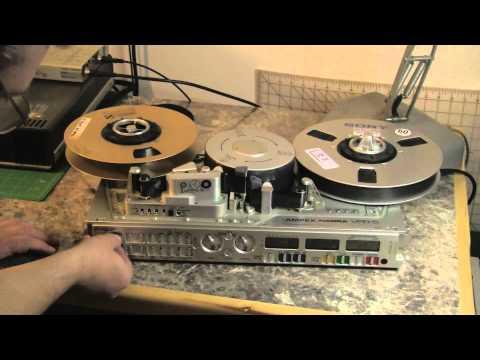Labguy checks out his Ampex Nagra VPR-5