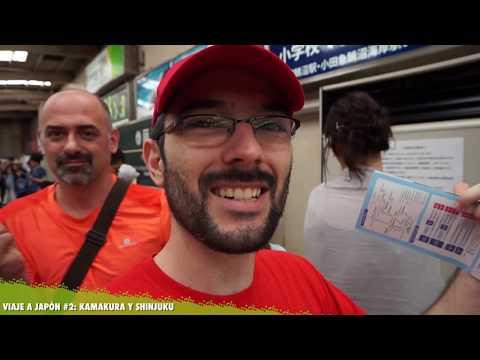 BUDAS GIGANTES, SUERTE Y RECREATIVAS | Kamakura y Shinjuku | Viajando por Japón #2