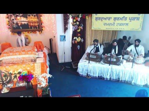 Kirtan Bhai Harlove Singh Ji Sacramento Wale - March 6, 2016 Gurdwara Gurmat Parkash