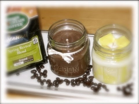 how to make a candle with soy wax homemade mason jar candles candle making at home youtube. Black Bedroom Furniture Sets. Home Design Ideas