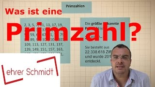 Primzahl   Was ist eine Primzahl?   Mathematik   Lehrerschmidt