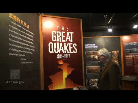 Earthquake Exhibit at the New Madrid Historical Museum