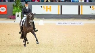 Edward Gal 84,100 % Grand Prix CDI-W Odense 2014