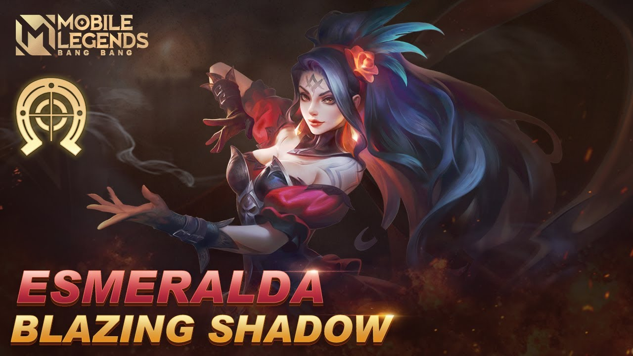 Esmeralda New Blazing Bounties Skin | Blazing Shadow | Mobile Legends: Bang Bang