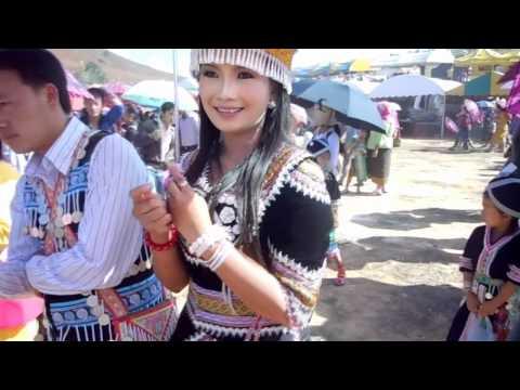 BEAUTIFUL HMONG GIRL IN LAOS 2013 - NKAUJSUA VWJ - FREE PHONE NUMBER