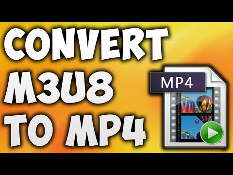 How To Convert M3u8 Format To MP4