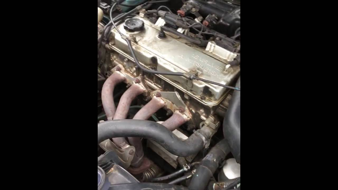 Change Air Filter - 1999 Mitsubishi Galant ES 4 Cylinder - YouTube | 99 Galant Fuel Filter Location |  | YouTube