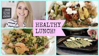 3 Healthy Lunch Ideas!