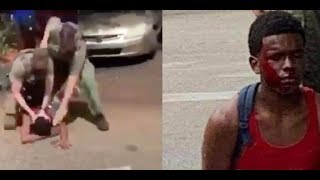 BLACK TEEN SLAM & BEAT BY COPS