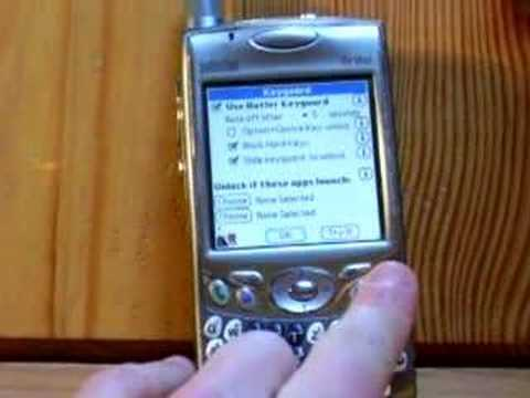 Palm Treo 650 - Slide2Unlock