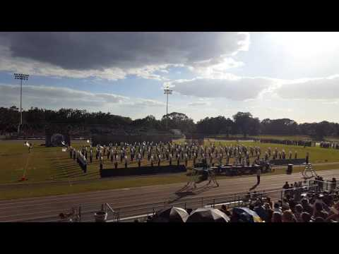 Gaither High School Marching Cowboys Riverview Competition 11/5/2016