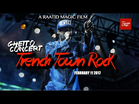 JAMAICAN GHETTO CONCERT ★ TRENCH TOWN ROCK 2017