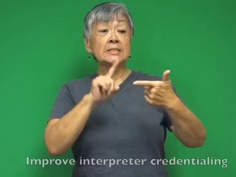 Discussion Starter: Three suggestions for improving ASL-ENG interpreting system in Hawaiʻi