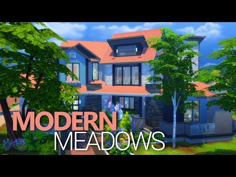PARENTHOOD HOUSE - Modern Meadows | Sims 4 House Building