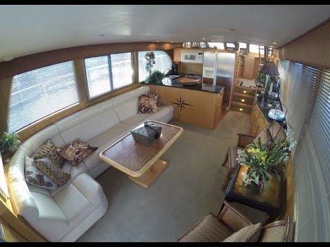 ocean alexander 510 classic pilot house interior by south mountain rh youtube com bill gates yacht house interior