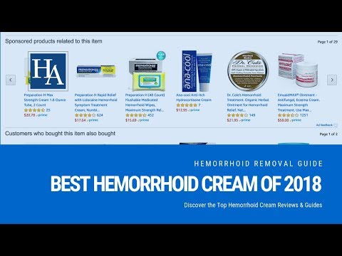Best Hemorrhoid Cream of 2018 -  Discover the Top Hemorrhoid Cream Reviews & Guides