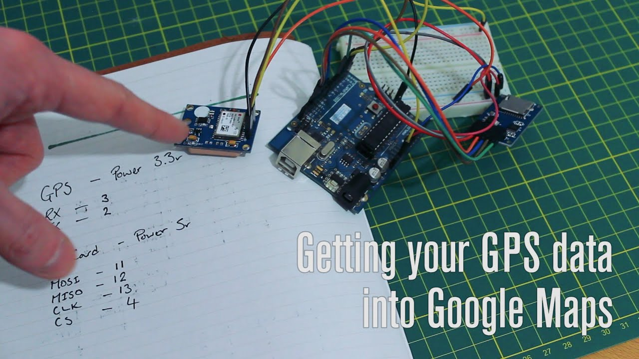 Getting Arduino RC Plane GPS Data Into A CSV File For Google Maps - Gps map data