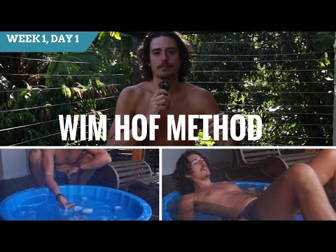 Wim Hof Method 10 Week Online Course Week 1 Wednesday