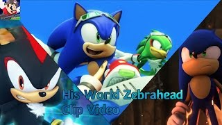Sonic Clip Video : His World By Zebrahead  (With Lyrics CC)
