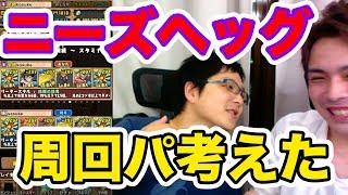 【パズドラ】ニーズヘッグ周回パーティ考えたよ!sasukeさんとマルチ!