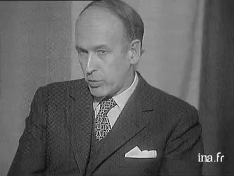 INTERVIEW GISCARD D'ESTAING