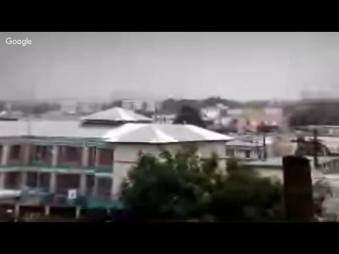 Huracan Irma cam desde el area metro de Puerto Rico