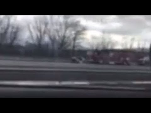 Video of Serious Accident on the New York State Thruway