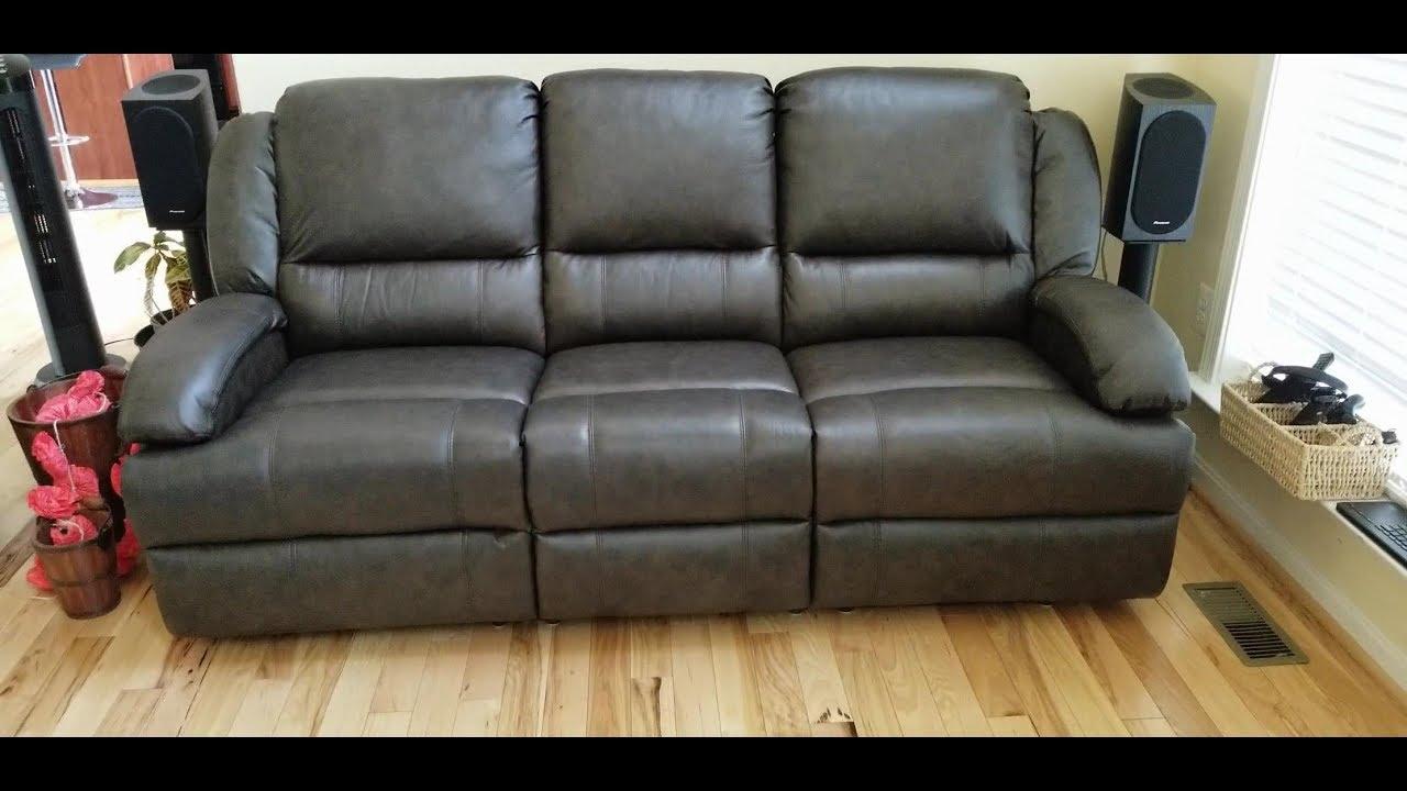 Abbyson Living Giorgio Top Grain Leather Sofa Set Unng And Short Review