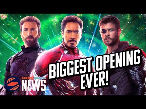 Avengers: Infinity War Destroys Box Office Records - Chartin