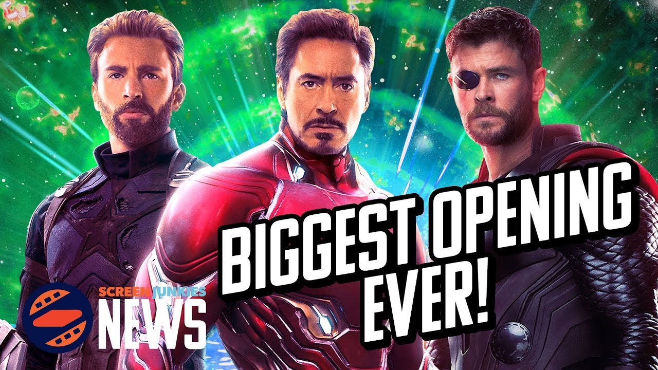 avengers: infinity war destroys box office records - charting with