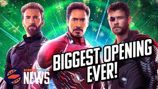 Avengers: Infinity War Destroys Box Office Records - Charting with Dan!