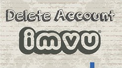 How to delete IMVU account permanently