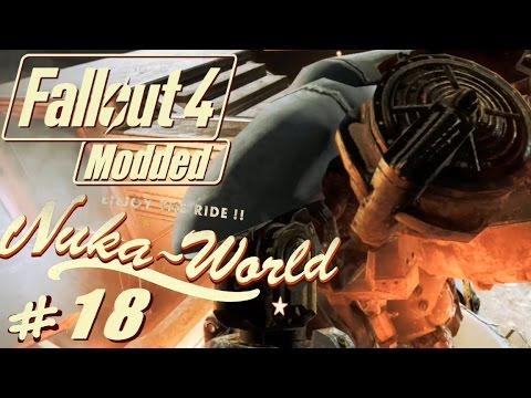 Fallout 4 Nuka World modded #18 Robot wars